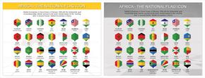 非洲国旗图表_2549430