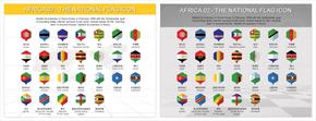 非洲国旗图表_2549431