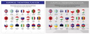 欧洲国旗图表_2549429