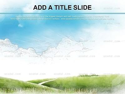 绿色背景ppt图表_2059454 - 演界网,中国首家演示设计
