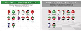 中东国旗图表_2549425