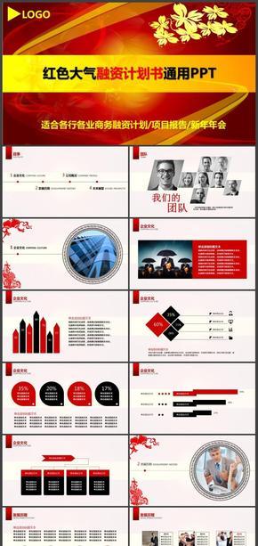 商业计划书创业融资计划书商业路演项目投资企业介绍推广PPT