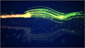 绚丽光效彩虹线条滑动渲染公司介绍开头