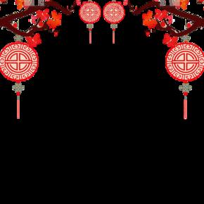 春节装饰素材