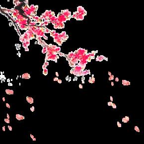 仙气缥缈的桃花林