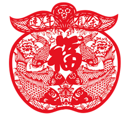 中国风创意剪纸