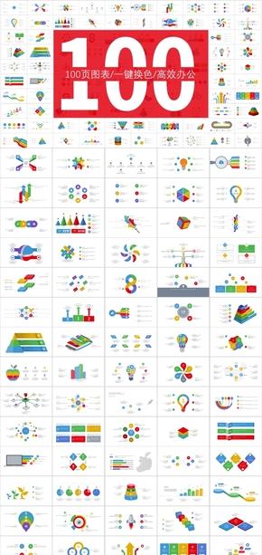 商务图表100页