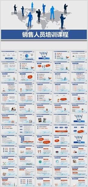 153P史上最全内容 销售人员培训 销售技巧 方法 人事培训模板
