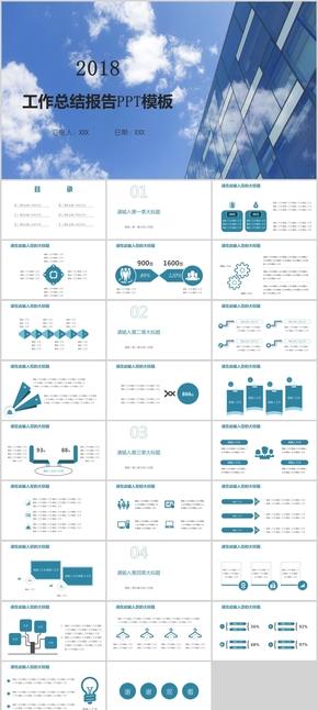 工作总结报告PPT模板