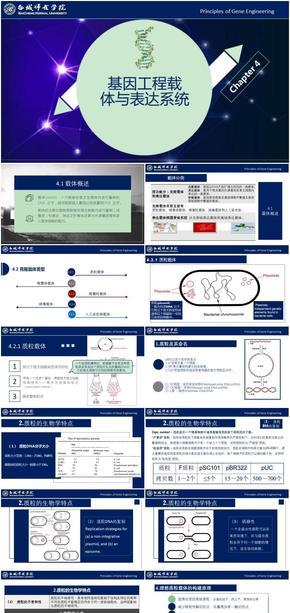 基因工程原理与技术-第4章-载体与表达系统