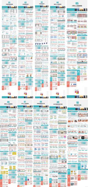 Office 2010办公高级应用精美课件-10个近400页