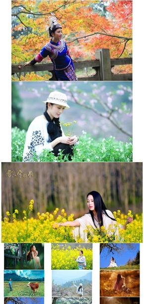 风景/民族/文化/摄影/背景/旅游/自然/服饰(165张)