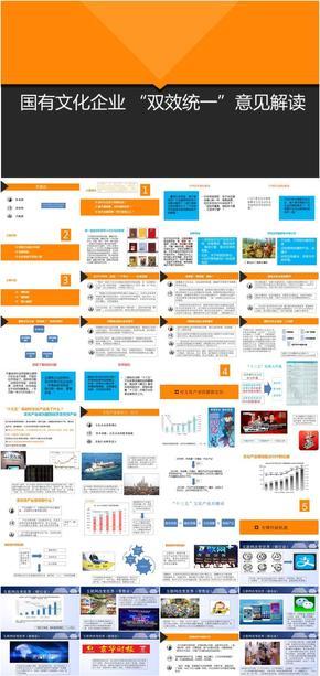 文化产业/文化企业/双效统一/意见解读/目标定位/机遇与实现(148页资深课件)