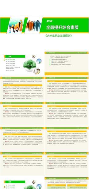 辅导员课程-大学生职业生涯规划-第7章-全面提升综合素质