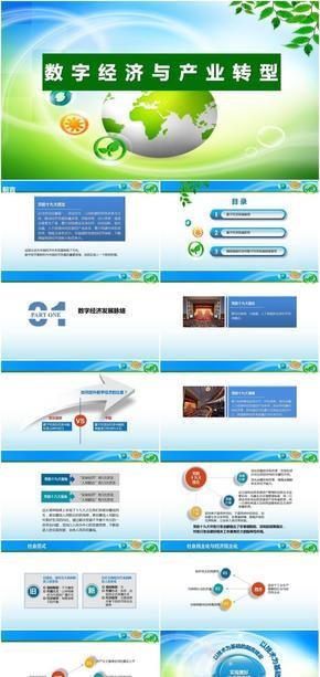 数字技术融合与数字资源应用/数字经济与产业转型