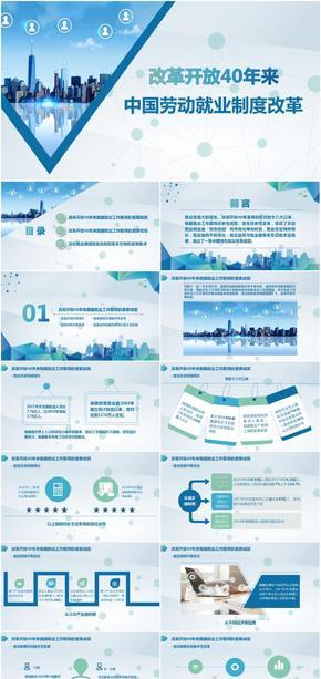 改革开放-中国劳动就业制度改革