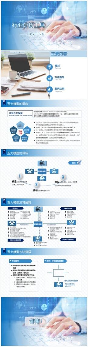 行业分析之五力模型