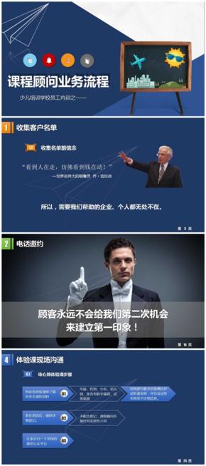 教育行业课程顾问/咨询顾问内训(共50p)