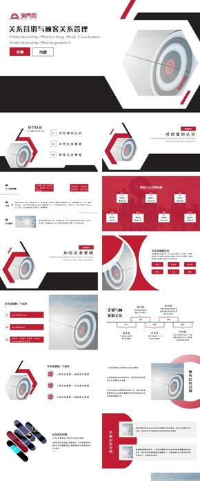 紅色商務關系營銷與顧客關系管理培訓課件