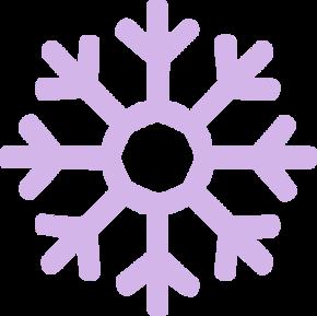 雪花矢量图