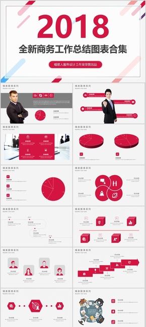 【商务模板】年终总结工作汇报商业计划书公司简介路演培训模板