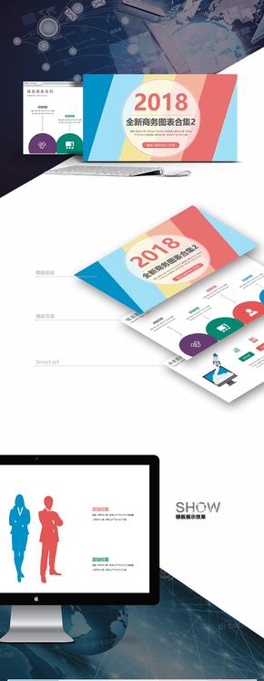 【2018通用商务】工作总结商务策划年终汇报咨询简介精美模板