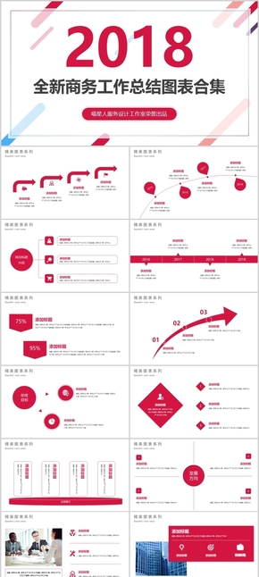 【商务总结】2018全新工作计划商务汇报年终总结部门计划模板