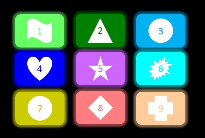 设计九宫格解锁图案大全步骤图