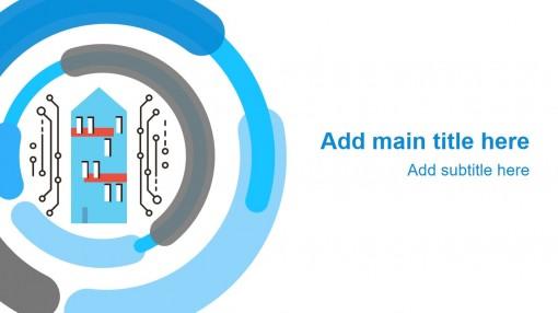 「智能家庭」家居物联网络信息通讯技术分析ppt模板