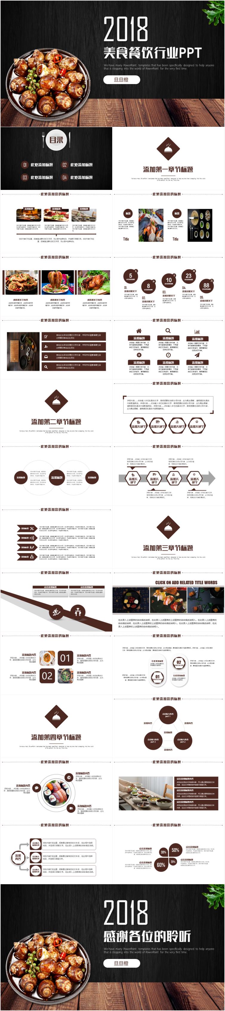 作品标题:美食餐饮酒店策划ppt模板 作品标签: 工作汇报计划总结广告图片