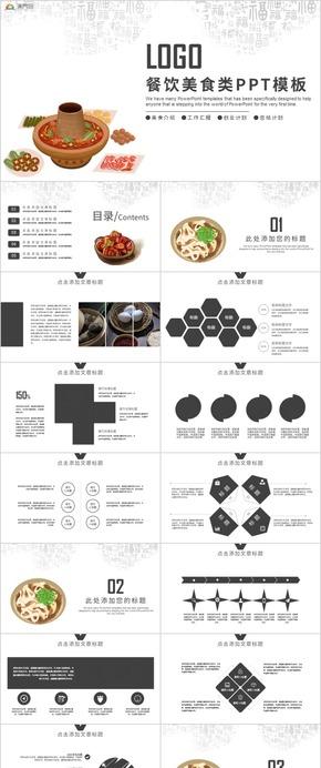 美食餐飲行業工作酒店策劃營銷方案PPT模板
