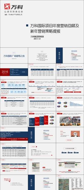 万科国际广场年度营销总结及新年营销策划方案