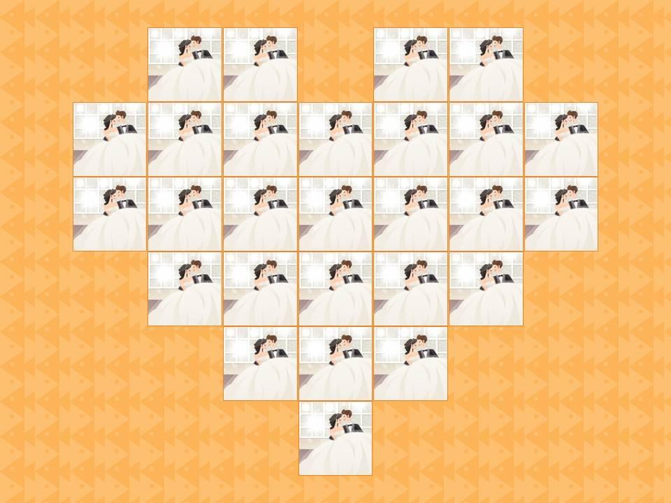 我要定制 商品标签: 情人节祝福心形墙动画ppt 模板类型: 动画模板图片
