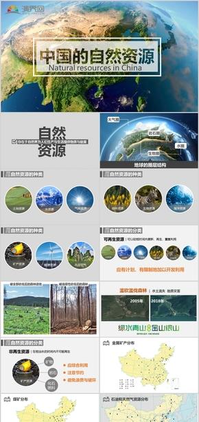 中国的自然资源