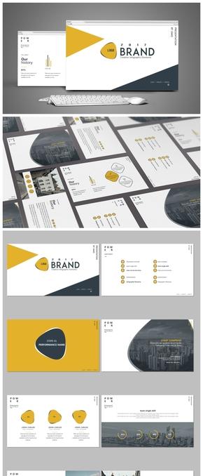 【商务简洁】-工作汇报项目汇报计划总结述职报告模板