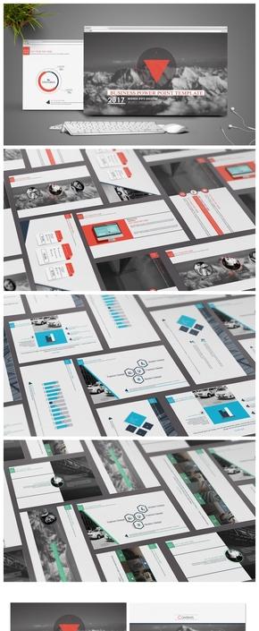 【科技时尚】创意科技动感商务模板《The Red Fashion》——| BY MOMO |