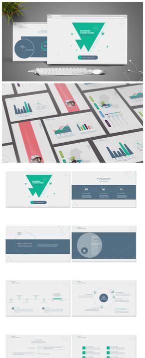 【科技汇报】科技商务风动感PPT模板(超实用2套)——| BY MOMO |