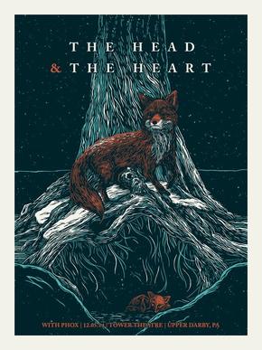 【海报分享计划】树、狐狸