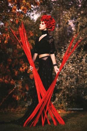 【海报分享计划】时尚摄影28-黑与红