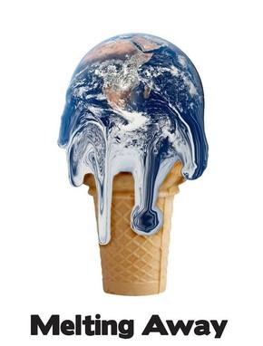 【海报分享计划】环保系列海报13-地球冰淇淋