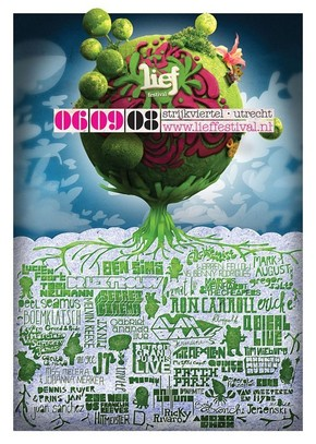 【海报分享计划】创意海报49-树