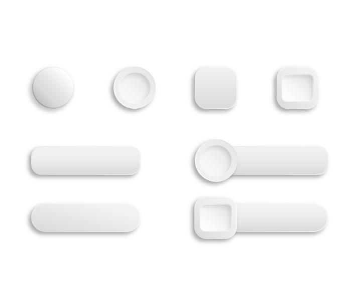 ppt微立体按钮图标素材超实用图片
