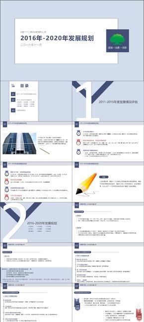 【保险行业干货】五年发展规划【企划|战略规划|风险管理】