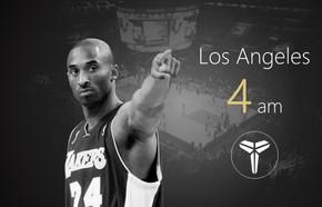 灰黑扁平化NBA体育海报