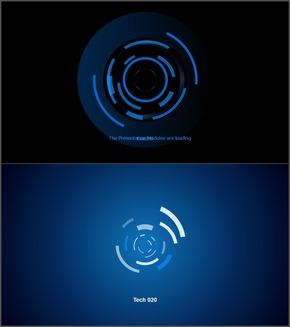蓝色深蓝科技技术