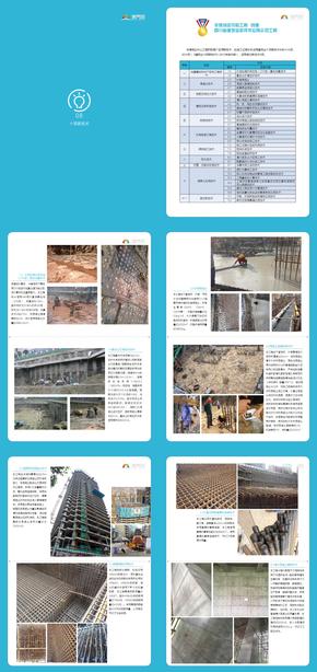 建筑业新技术应用示范工程宣传册(A4可编辑)