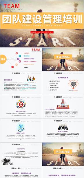 企业团队文化建设团队管理教育培训PPT