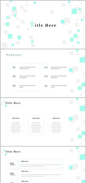 简约、极简、创意、工作汇报、工作总结模版