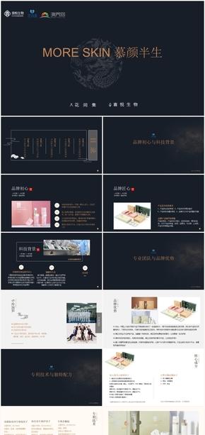 高端集团古风公司产品介绍ppt模板