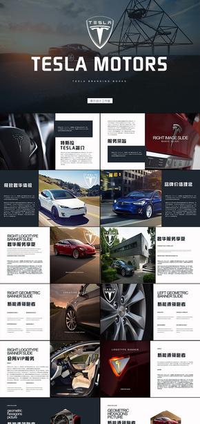 新能源汽车特斯拉tesla营销策划方案ppt模版